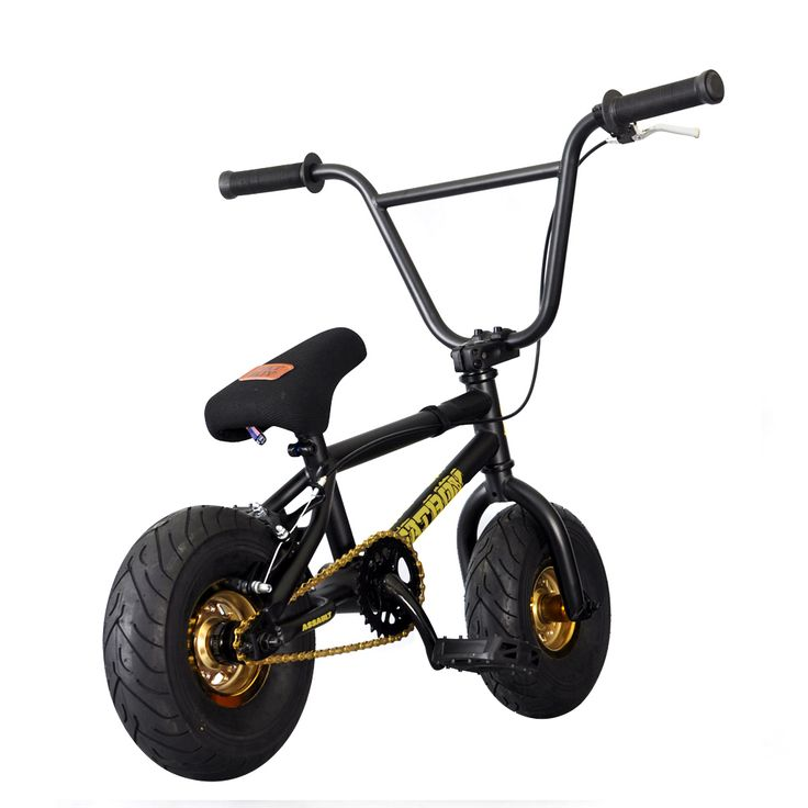 "Fatboy Assault 10"" #Mini #BMXBike - Black Gold"