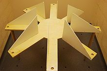 A simple homemade eight-arm radial arm maze with sidewalls to prevent interarm traverses