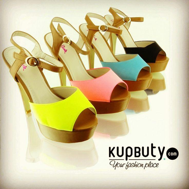 Modne, oryginalne a jednocześnie stylowe buty na wysokim obcasie. Buciki są wysokie ale jednocześnie bardzo wygodne. Sprawdzą się podczas niejednej okazji.  http://www.kupbuty.com/product-pol-2918-Czolenka-na-obcasie-VB33050-zolte.html  #heels #style #fashion #shoes #sandals #girls #cool #follow #online