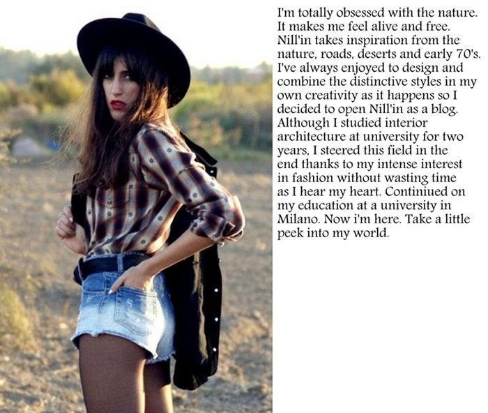 """Nill'in takes inspiration from the nature, roads, deserts, and early 70's."" - Nil of ""Nill'in"". http://nillinn.com/ #Istanbul #Milan #fashion #style #fashionblogger #designer #architecture #fashionblog"