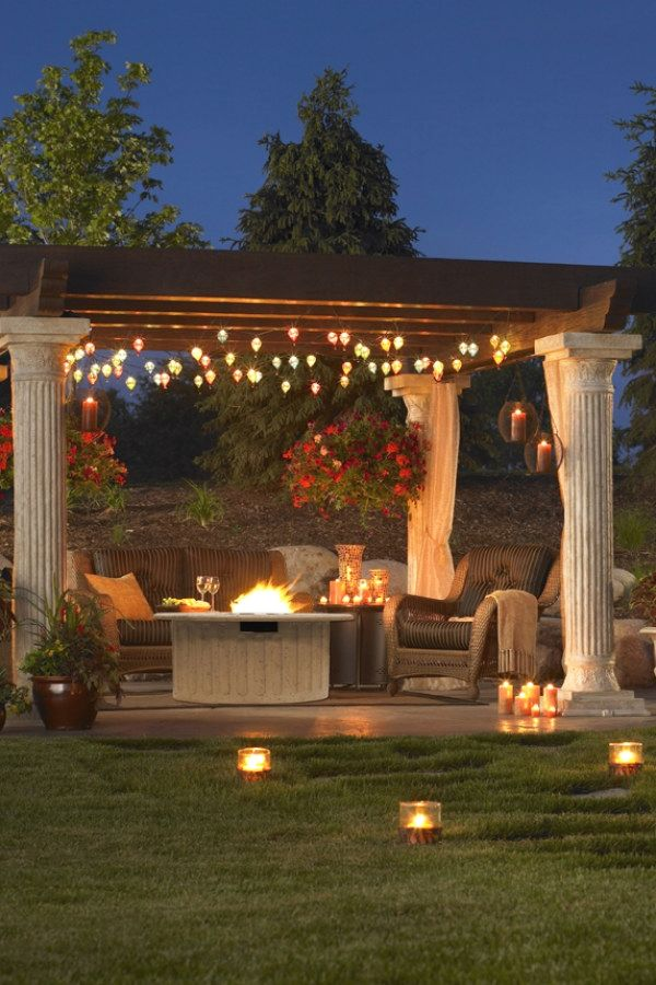 29 Awesome Outdoor Lighting Ideas For Your Outdoor Living Spaces | Outdoor  Lighting Ideas Design No