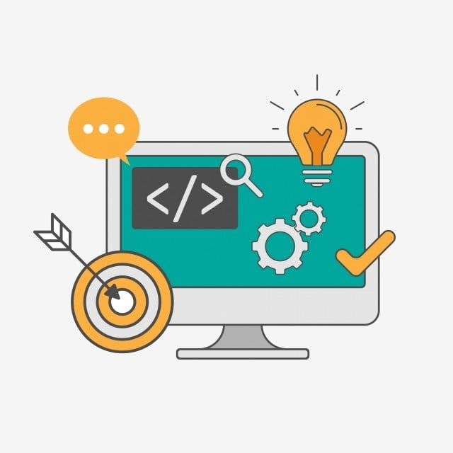 Programming And Web Technology Vector With Computer Illustration Vector And Png Web Design Logo Computer Vector Web Technology