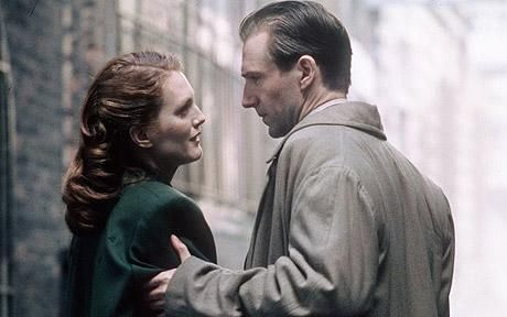 Ralph Fiennes and Julianne Moore in the 1999 fime The End of the Affair