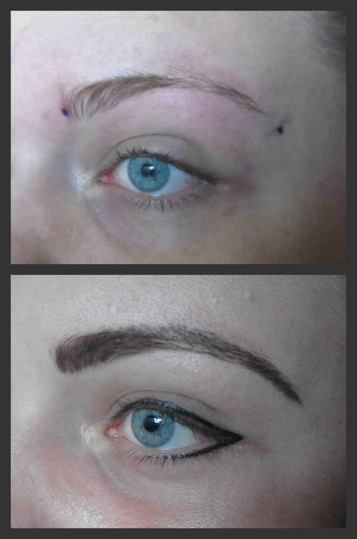 Eyebrows & eyeliner. Bookings:  083 692 2207