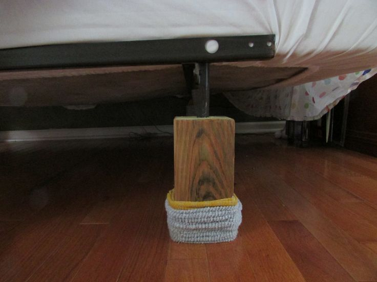 Best 25 Bed Risers Ideas On Pinterest Wood Bed Risers