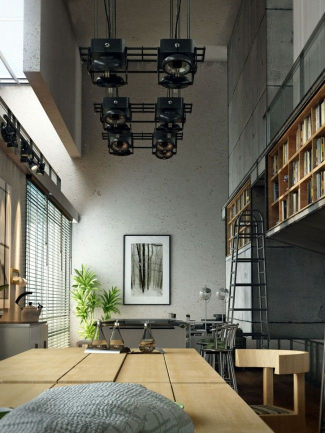 House of the Library by Ramezani Morteza. Software : 3ds max - V-Ray - Ps.
