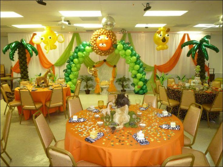Tropical Theme Balloon Decor