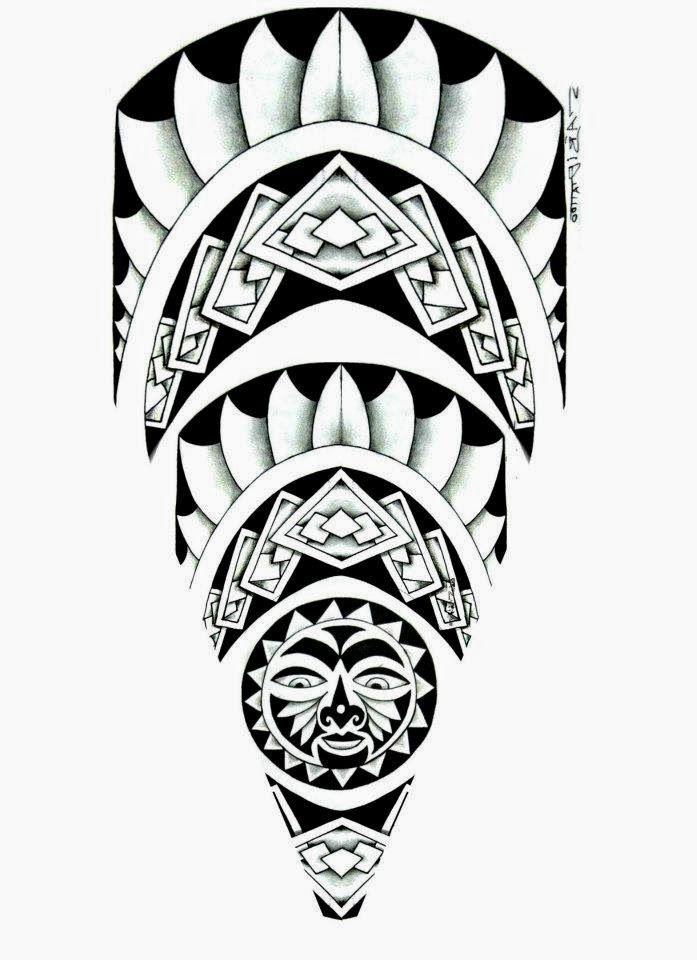 Desenho maori                                                                                                                                                     Mais