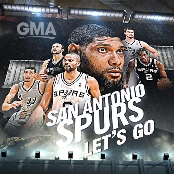 Pin this if you're cheering for the San Antonio Spurs in the NBA Finals