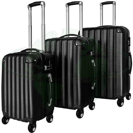 Juego de tres maletas rígidas Monzana. Set de maletas de diferentes tamaños. Diferentes colores.  http://latiendademaletas.com/maletas-viaje/maletas-bolsas-viaje/set-tres-maletas-rigidas-monzana/