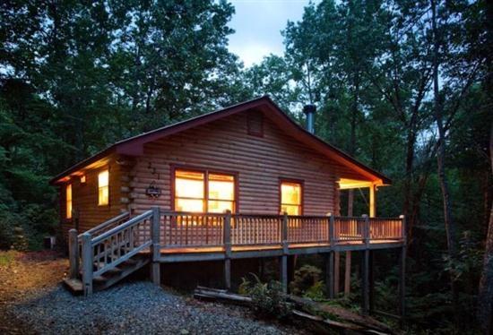 """Simple Life"" - This is it! North Georgia cabin - pet friendly Ellijay cabin - Blue Sky Cabin Rentals"