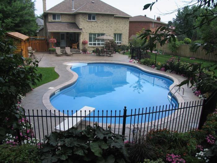 Backyard Getaways Photos : Backyard Getaways  Custom Swimming Pools & Backyards Toronto  Dreams
