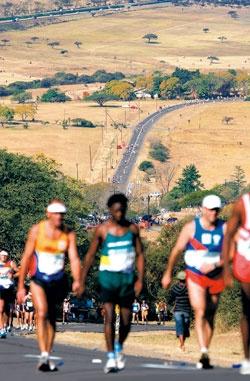 Comrades Marathon, my retirement project!  89 km?  No problem.