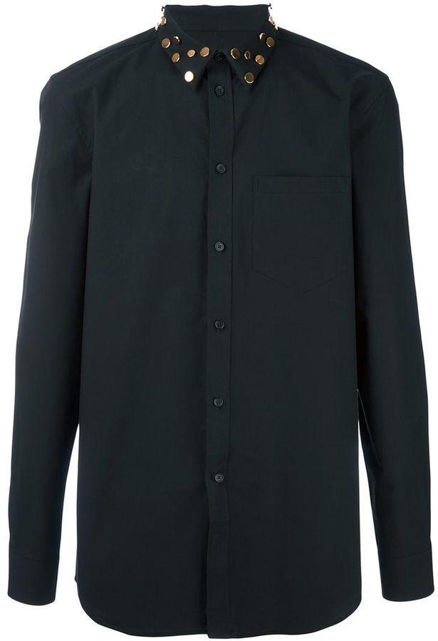 Givenchy studded collar shirt