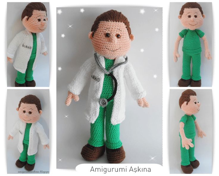 Amigurumi Askina Blog : amigurumi, Medico LETS MAKE A DOLL Pinterest ...