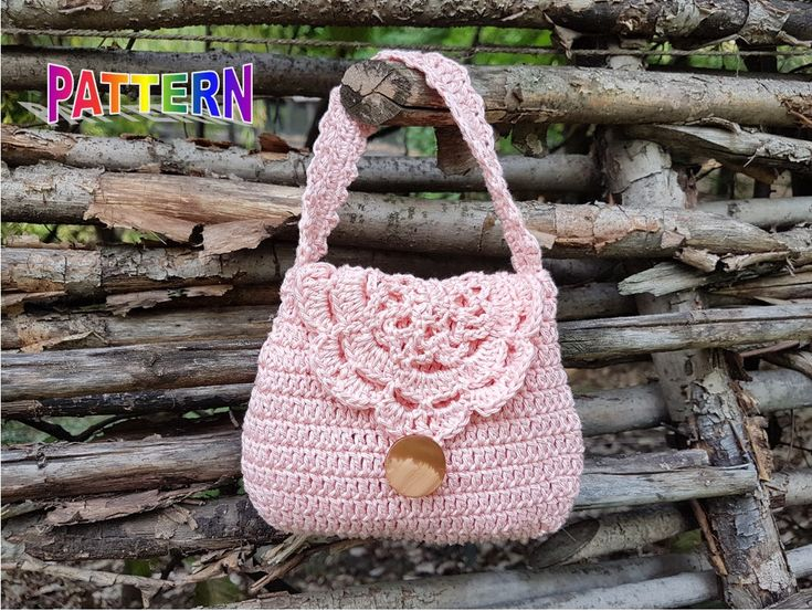 Excited to share the latest addition to my #etsy shop: Crochet bag pattern, crochet purse pattern, crochet girl purse pattern, crochet purse pattern, girl purse pattern, toddler purse pattern http://etsy.me/2G4zMpZ #supplies #crochet #crochetbagpattern #girlpursepatter