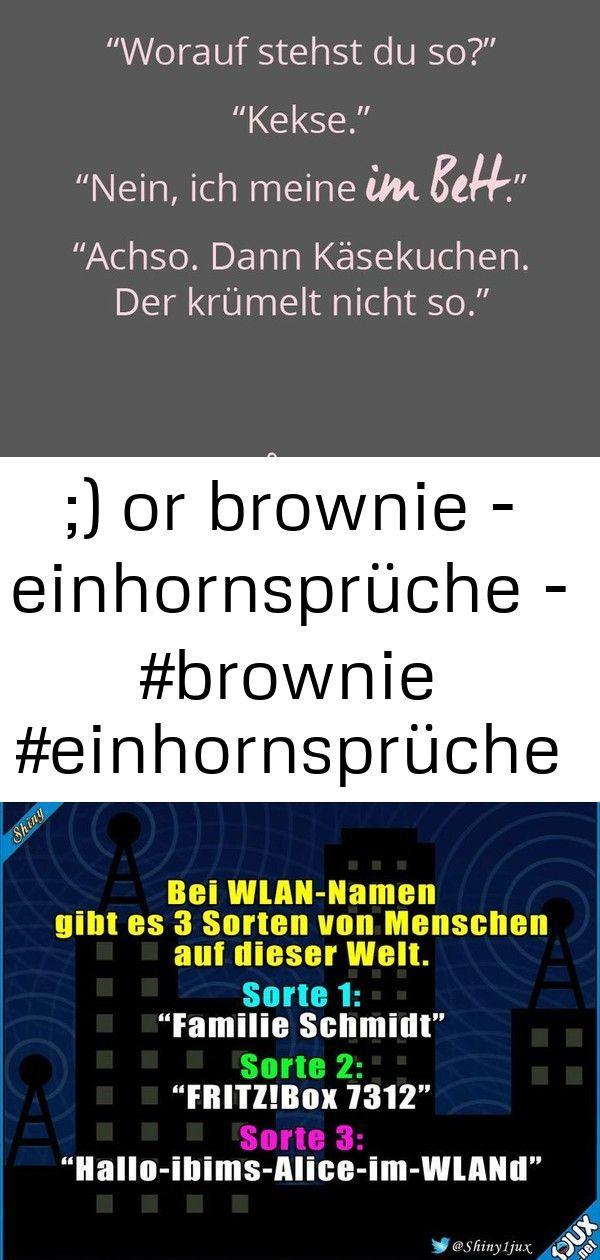 Or Brownie Einhornspruche Brownie Einhornspruche Lustige Witze Bilder Einhorn Spruche Spruche