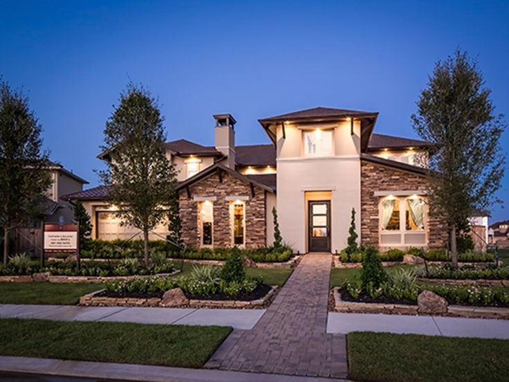 Modern hill country home modern hill country story new for Country home builders in texas