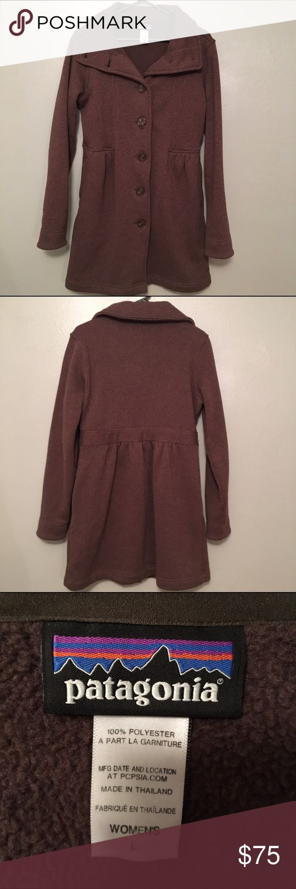 Patagonia Better Sweater Coat Like new!! Only worn a few times. This coat is SO soft and comfortable. Not missing any buttons. No holes or stains. Overall great condition. Pockets on front. Patagonia Jackets & Coats