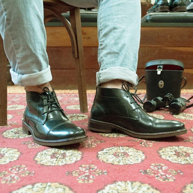 Lançamento Bota democrata connor na cor preta. #blackbootsbrasil #boots #bota #botas #heritage #limitededition #menboots #workboots