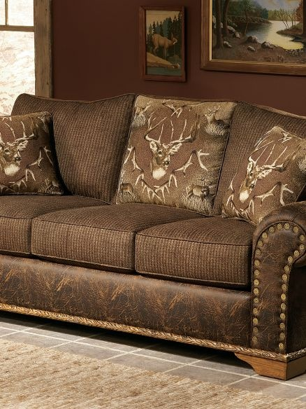 Nice Cabelau0027s: Whitetail Ridge Sofa   Love This Couch   Just A Different Pattern.
