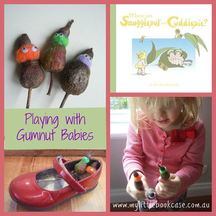 Get creative and outdoors with a game of Gumnut Baby Hide and Seek based on May Gibbs' Snugglepot and Cuddlepie_my little bookcase
