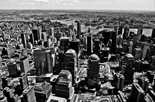 New York from above af Rasmus Bendixsen