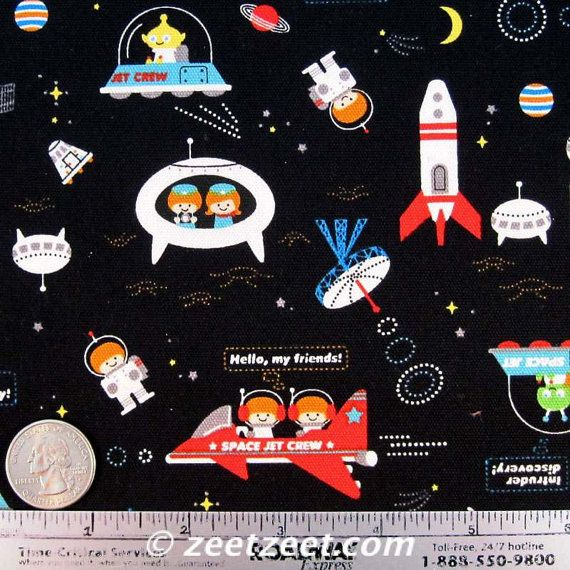 7 best fabric images on pinterest cotton bed sheets for Space mission fabric