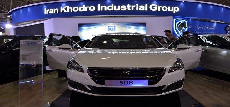 افتتاح نمایشگاه جدیدترین تولیدات ایران خودرو در بازار پدیده شاندیز معاون بازاریابی و فروش شرکت