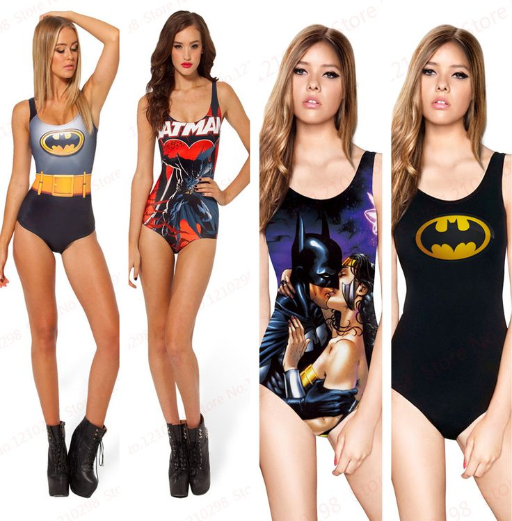 Cheap Sexy BATMAN traje de baño una piezas traje de baño atractivo S body impresión Digital yo soy el BATMAN SUPERMAN WONDER WOMAN baño, Compro Calidad Trajes de una Pieza directamente de los surtidores de China:  Sexy BATMAN SWIMSUIT One Pieces Sexy Swimwear S Bodysuit Digital Printing I AM THE BATMAN SUPERMAN WONDER WOMAN SWIMSUI