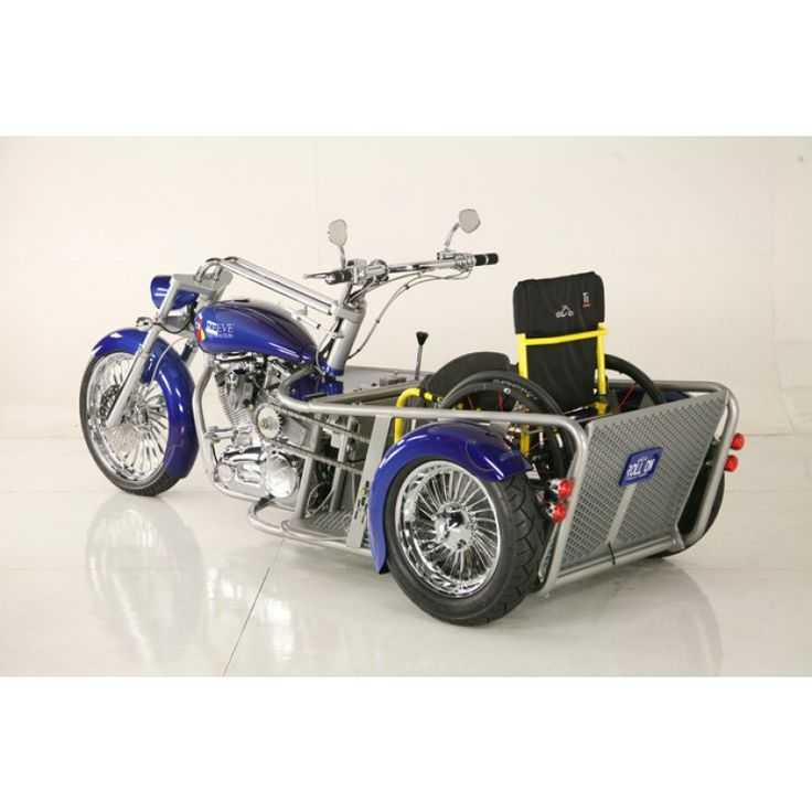 OCC Custom Wheelchair Motorcycle for Christopher and Dana Reeve's Foundation
