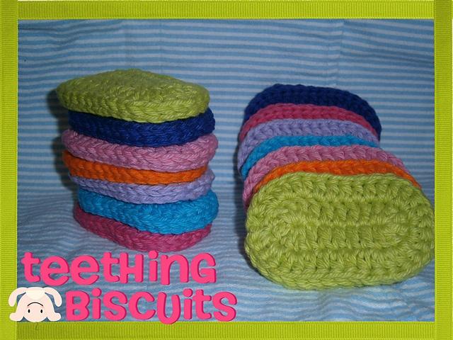 Ravelry: Teething Biscuits pattern by Lizabeth McCool