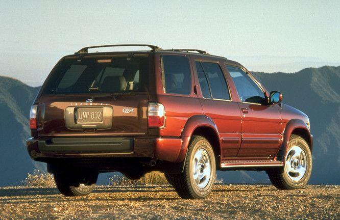 2000 Infiniti Qx4 Press Kit Infiniti Nissan Suvs Nissan Pathfinder