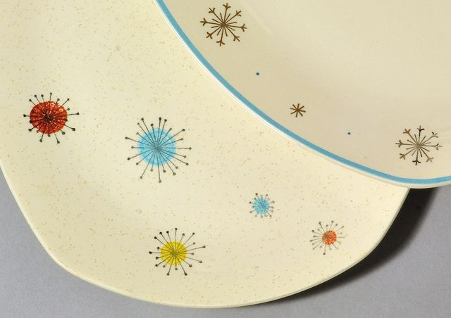 Star designs for Midwinter Pottery