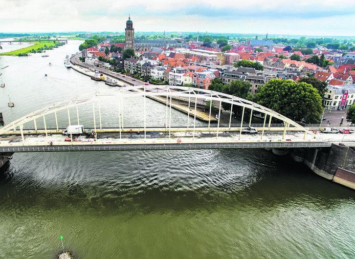 De Wilhelminabrug in Deventer.