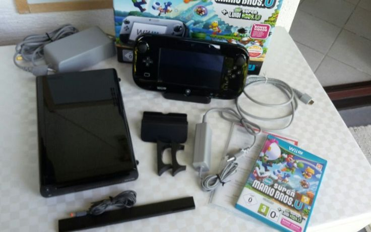 Nintendo Wii U ☆ Mario & Luigi ☆ ☆Premium Pack☆ 32 GB - schwarz - vollständig und in OVP Privatverkauf keine Garantie und Rücknahme. Versand per DHL Paket 8,00 €. Zahlung per Überweisung erbeten. @@@Weitere Spiele im Angebot @@@@   eBay!