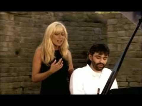 ▶ Vivo por ella - Andrea Bocelli y Marta Sanchez (HOMENAJE A LA MUSICA) - YouTube
