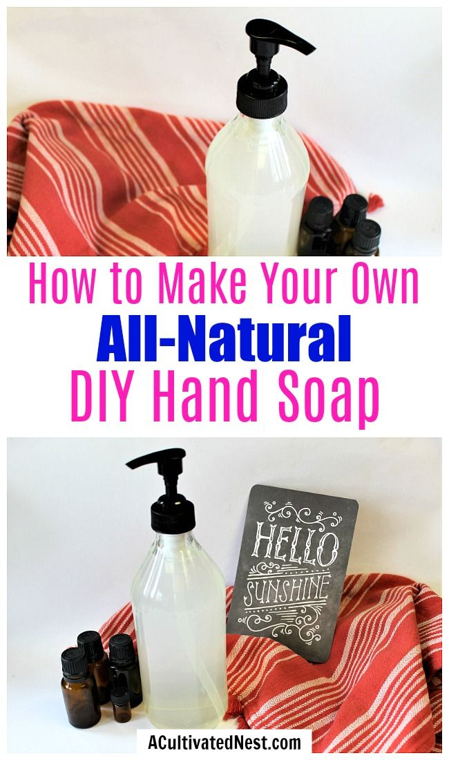 Diy Sunshine Clean All Natural Hand Soap A Cultivated Nest Natural Hand Soap Diy Hand Soap Liquid Soap Diy