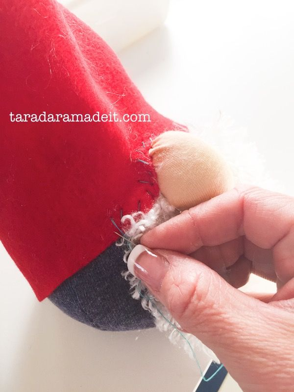 DIY Santa Gnome Tutorial - 1 Hour Craft perfect for a kid craft
