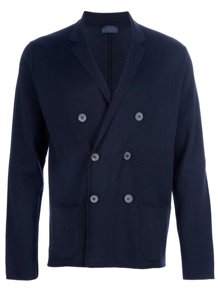 Lanvin double breasted blazer. | fall trends for men - double breasted