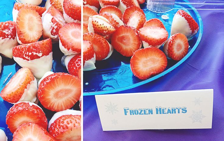 10 Disney's Frozen Themed Birthday Party Food Ideas | Creative House Blog
