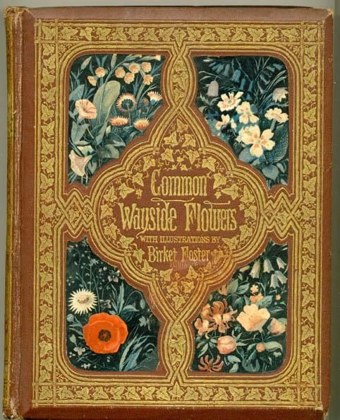 For your day out in the countryside? A book to treasure, with binding by Albert Warren (1860) http://www.victorianweb.org/art/design/books/23.html …
