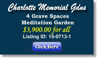 Featured Cemetery Listing - Charlotte Memorial Gardens - Charlotte, NC - 15-0713-1