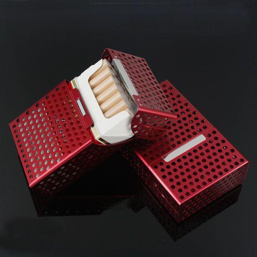 Cheap Caja del metal retro caja de fumadores de tabaco para los hombres de aleación de aluminio de la vendimia por 20 Kingsize cigarrillo color de la mezcla Caso, Compro Calidad Pipas de Fumar directamente de los surtidores de China:                  Nota:      Recuerde por favor nos dejan un messange bajo la orden de su elección de color .     Es muy