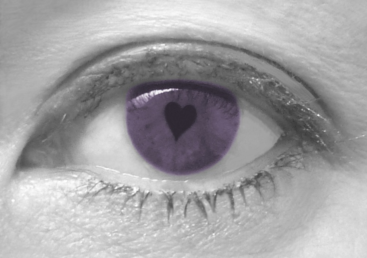 My purple eye! Photo taken and edited by me!