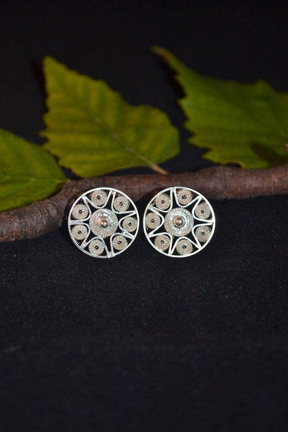 Unique Handmade Sterling Silver Earrings