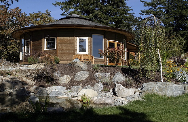 Circular small home design prices range from 48k 98k for Deltec homes cost