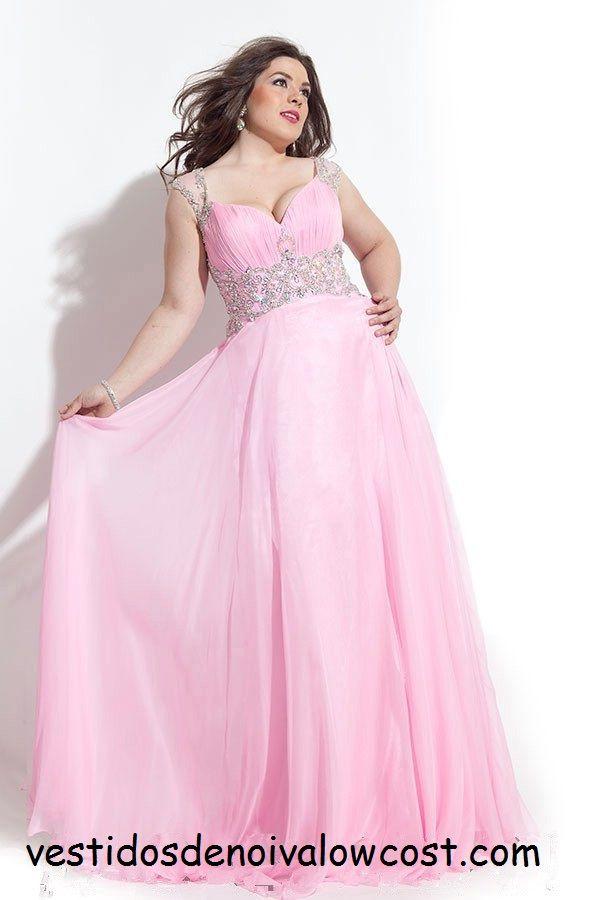 8 best Vestidos de Festa Plus Size images on Pinterest | Ballroom ...