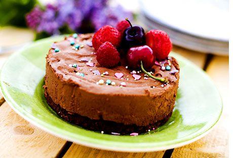 Chokladmoussetårta på mörk choklad | Köket.se