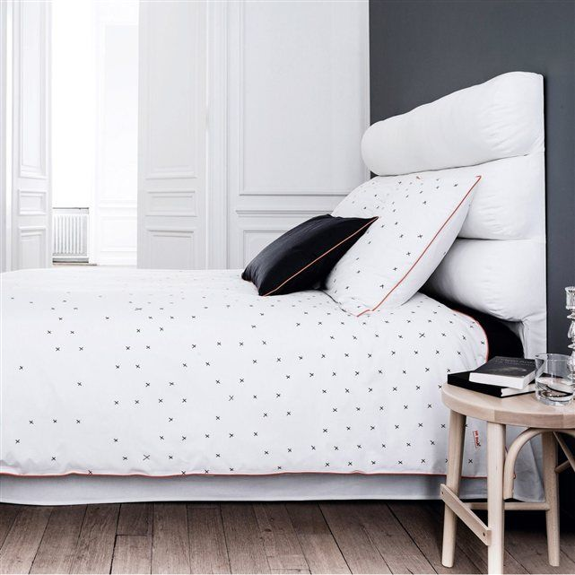 17 meilleures id es propos de housse de couette blanche. Black Bedroom Furniture Sets. Home Design Ideas